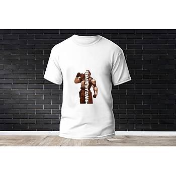Brimstone Baskýlý Model 10  T-Shirt
