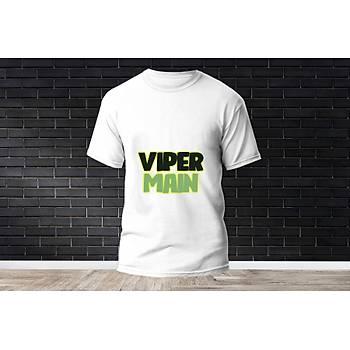 Viper Baskýlý Model 11  T-Shirt