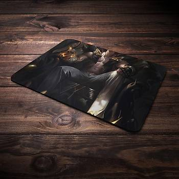 League Of Legens Sett Þampiyon Baskýlý Mousepad (BÜYÜK GAMEPAD)