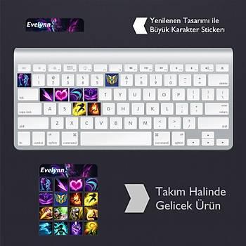 Evelynn: Klavye Sticker Set