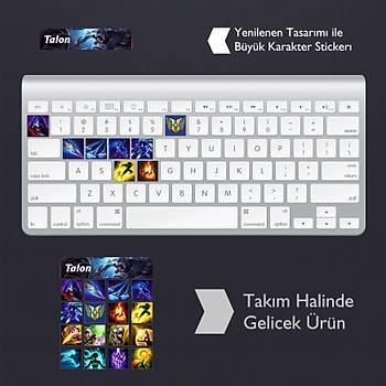 Talon: Klavye Sticker Set