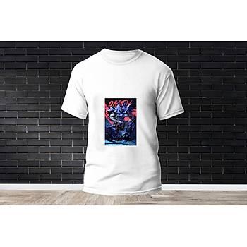 Omen Baskýlý Model 27  T-Shirt