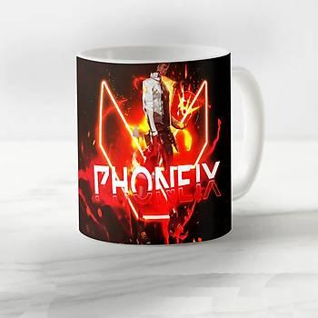 Valorant Model  Phoenix Desenli Kupa Bardak