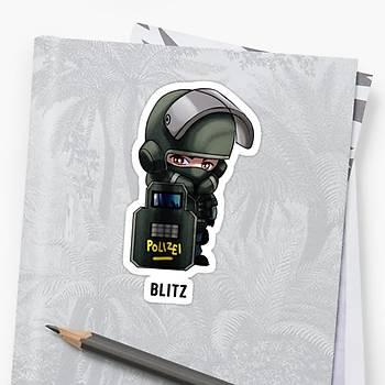 R6 : Blitz Sticker (2 adet)