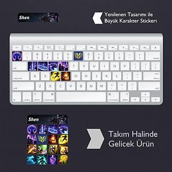 Shen: Klavye Sticker Set