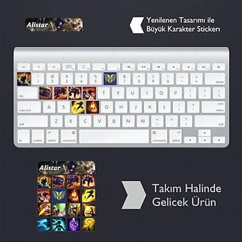 Alistar: Klavye Sticker Set