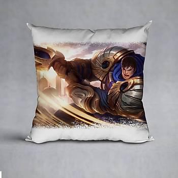 League Of Legends Garen Baskýlý Yastýk (ELYAF DOLGULU)