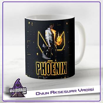 Valorant:Phoenix 2 Baskýlý Kupa Bardak