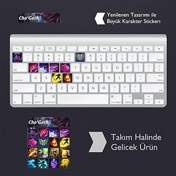 Cho'Gath: Klavye Sticker Set