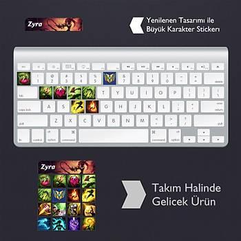 Zyra: Klavye Sticker Set