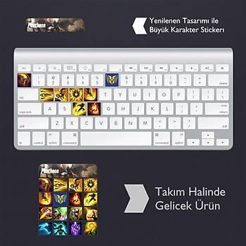 Pantheon: Klavye Sticker Set