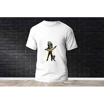 Killjoy Baskýlý Model 15  T-Shirt
