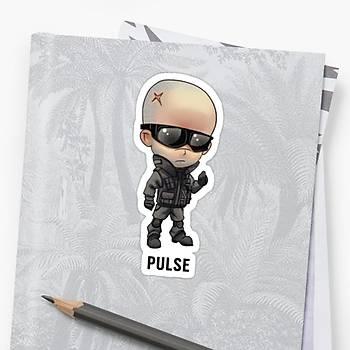 R6 : Pulse Sticker (2 adet)
