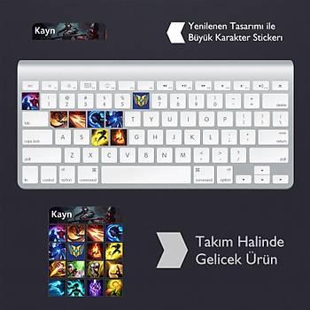 Kayn: Klavye Sticker Set