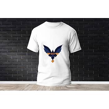 Brimstone Baskýlý Model 7  T-Shirt