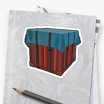 Pubg Drop Sticker (2 adet)