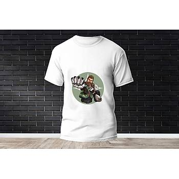 Breach Baskýlý Model 1  T-Shirt