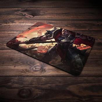 League Of Legens Darius Þampiyon Baskýlý Mousepad (BÜYÜK GAMEPAD)