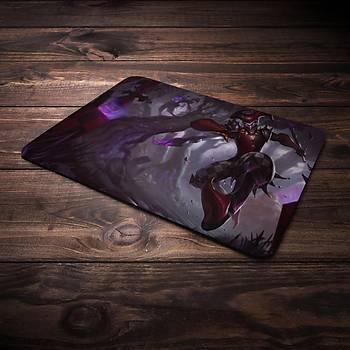 League Of Legends Shaco Þampiyon Baskýlý Mousepad (BÜYÜK GAMEPAD)