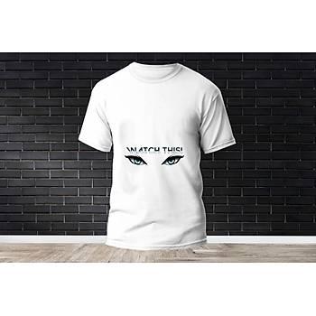 Jett Baskýlý Model 8  T-Shirt