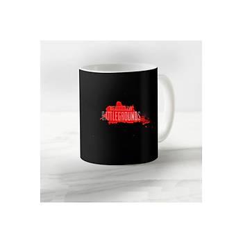 PUBG Temalý Model 4 Porselen Kupa Bardak