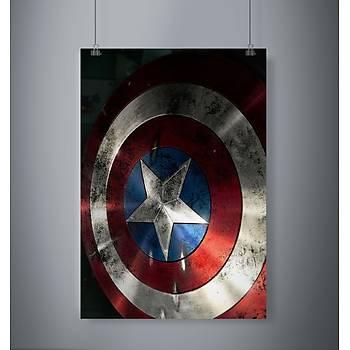 Captan America Kalkan: Poster