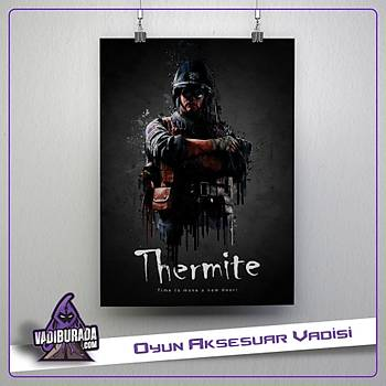 Rainbow Six Siege : Thermite Poster