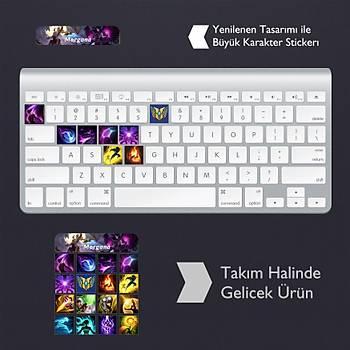 Morgana: Klavye Sticker Set