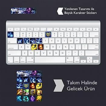 Kennen: Klavye Sticker Set