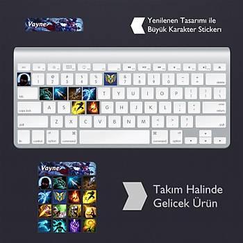 Vayne: Klavye Sticker Set
