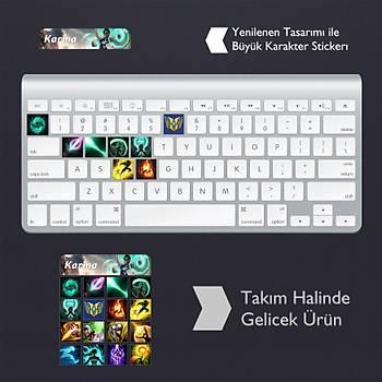 Karma: Klavye Sticker Set