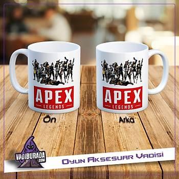 Apex Legends Kahramanlar 1 Logolu Kupa