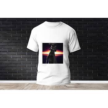 Cypher Baskýlý Model 16  T-Shirt