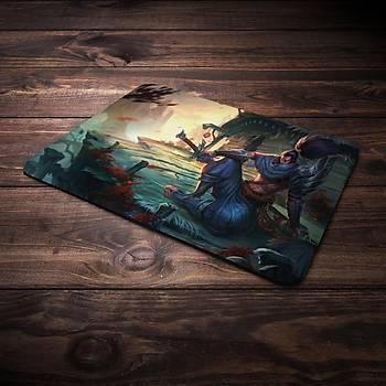 League Of Legends Yasuo Þampiyon Baskýlý Mousepad (BÜYÜK GAMEPAD)