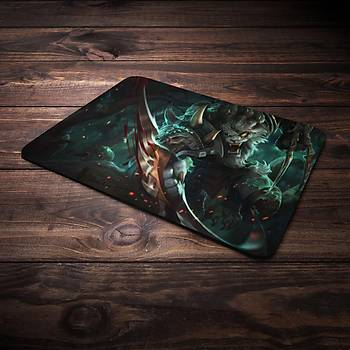 League Of Legends Rengar Þampiyon Baskýlý Mousepad (BÜYÜK GAMEPAD)