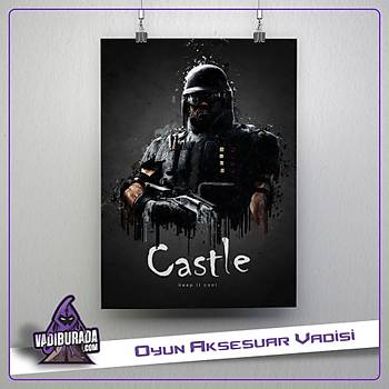 Rainbow Six Siege : Castle Poster