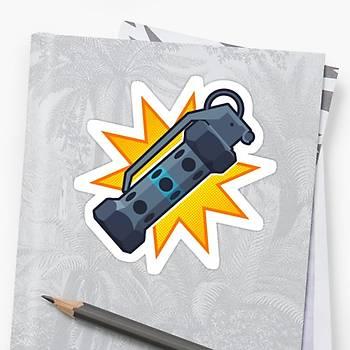 CS:GO Flash Sticker (2 adet)