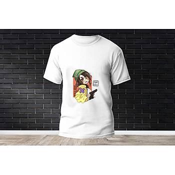 Killjoy Baskýlý Model 4  T-Shirt