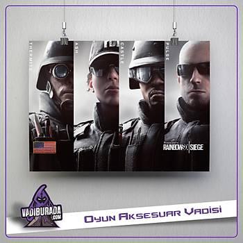Rainbow Six Siege : A-Takým 5 Poster