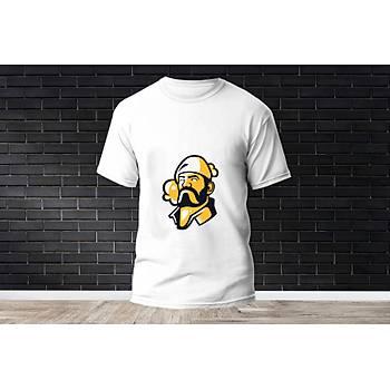 Brimstone Baskýlý Model 9  T-Shirt
