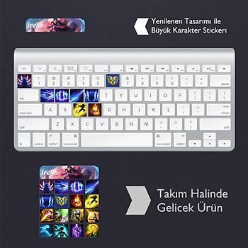 Irelia: Klavye Sticker Set