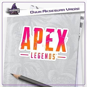 Apex Legends Logolu Sticker (2 adet)