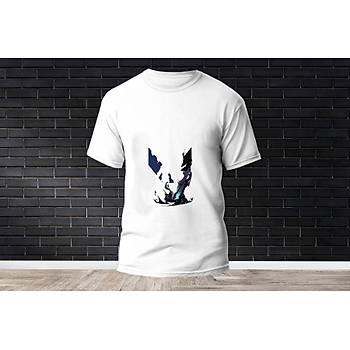 Omen Baskýlý Model 24  T-Shirt