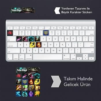 Tahm Kench: Klavye Sticker Set