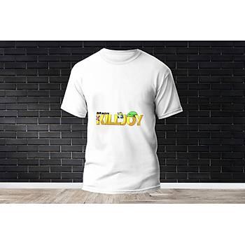 Killjoy Baskýlý Model 10  T-Shirt