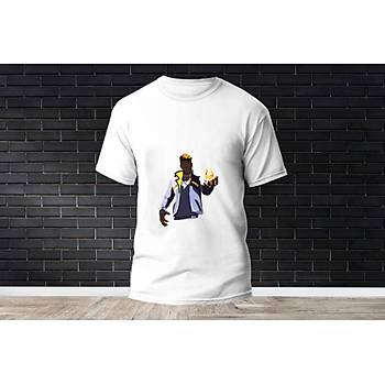 Phoenix Baskýlý Model 8  T-Shirt