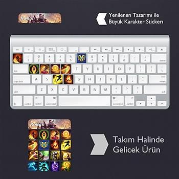 Rakan: Klavye Sticker Set