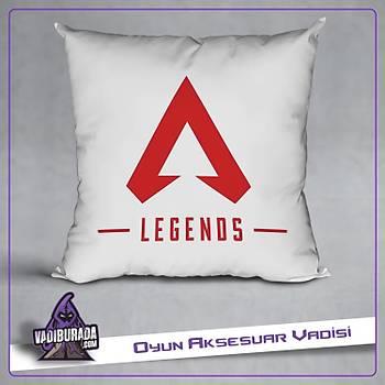 Apex Legends Kýrmýzý Logolu Yastýk