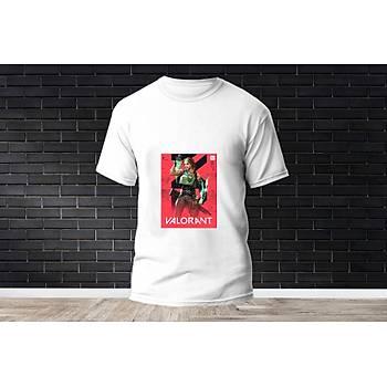 Skye Baskýlý Model 7  T-Shirt