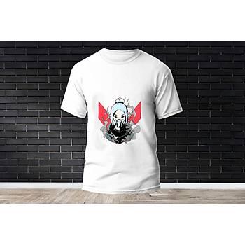 Jett Baskýlý Model 5  T-Shirt